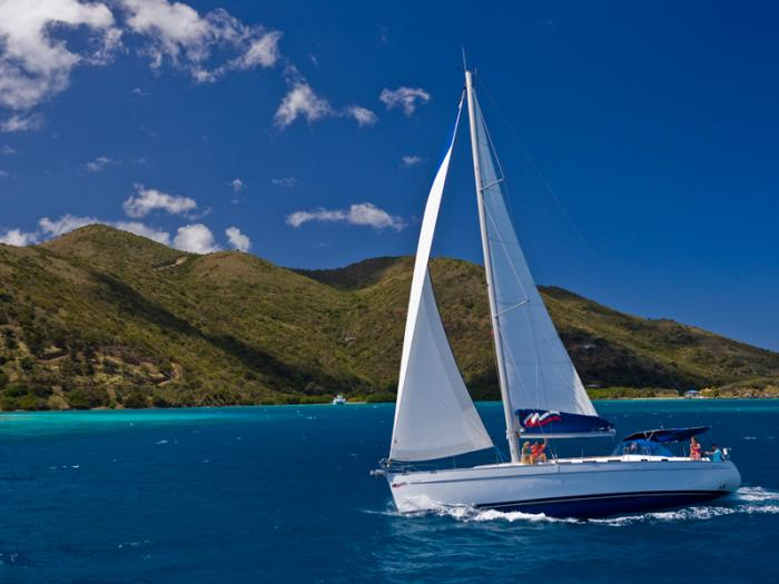 Sailboats In The Caribbean: Goddard Sailing Association