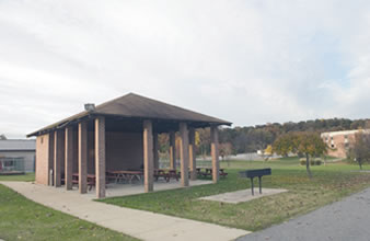 Photo of the picnic pavilion